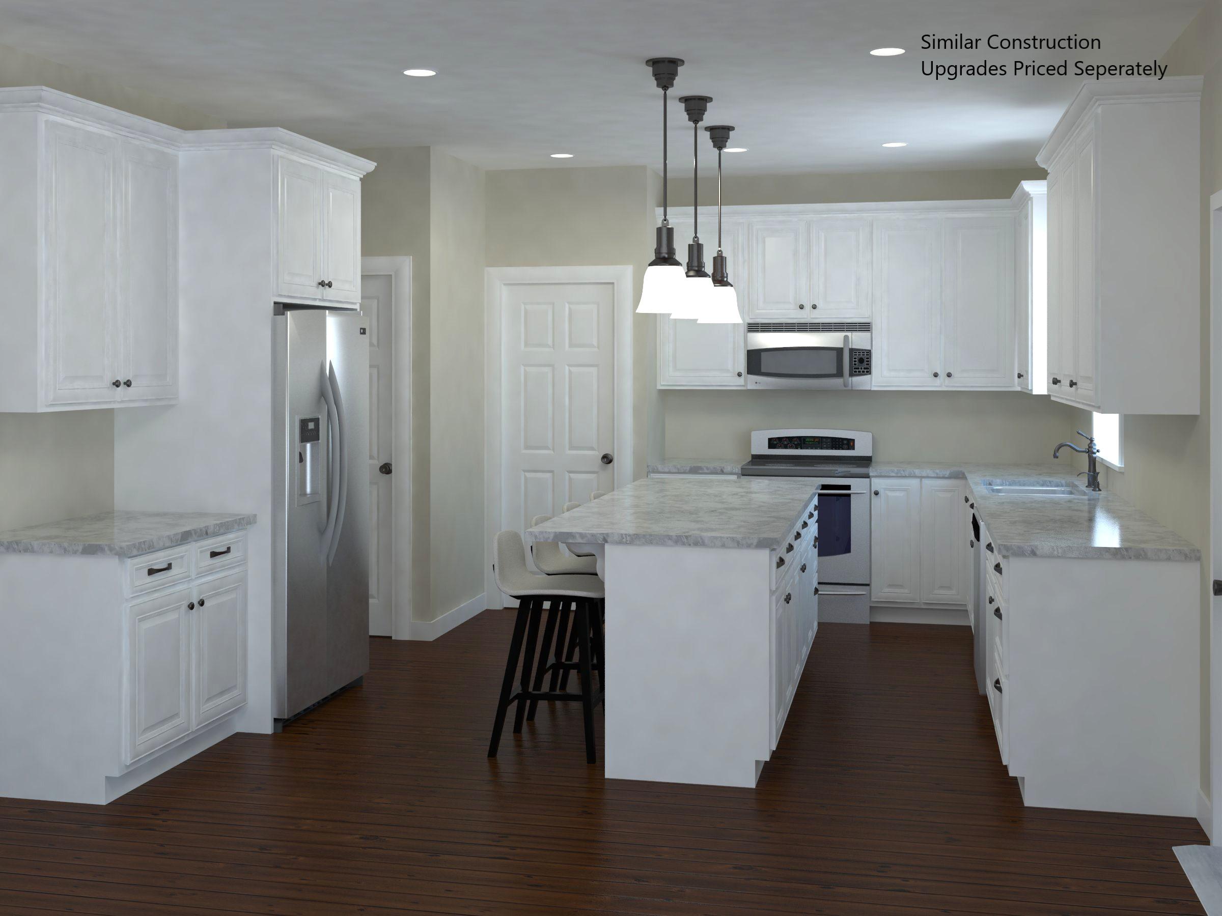 Hemlock Kitchen Rendering