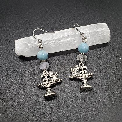 Spring Fountain Earrings