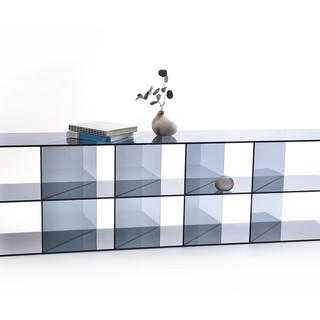 Glassvariations 4 MONOLOG Glasscase smok