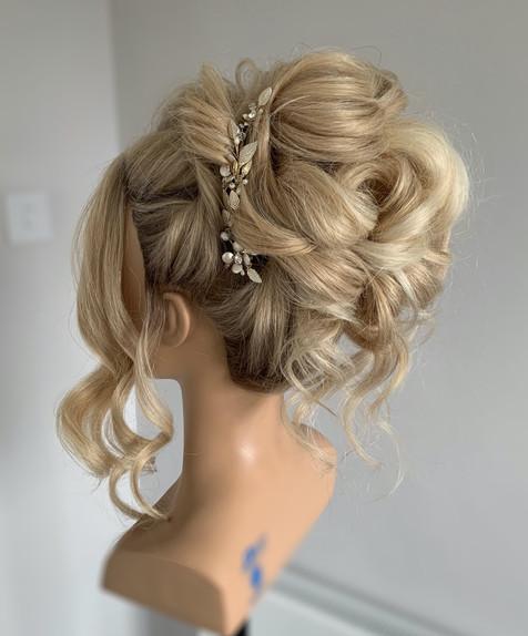 wedding hair buckinghamshire