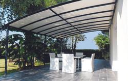 Toiture étanche structure aluminium