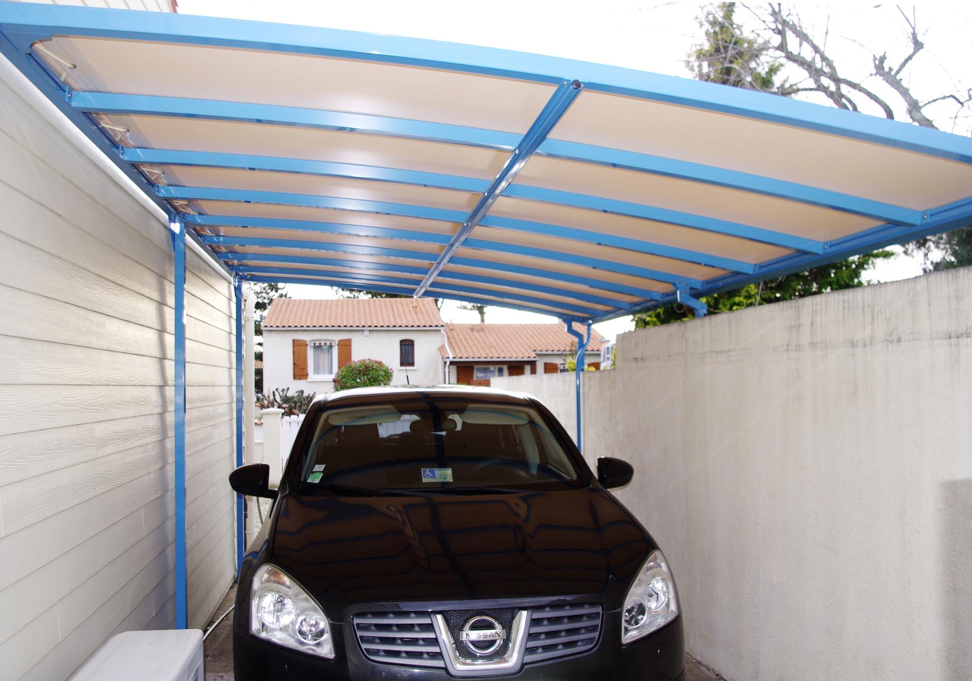 Carport aluminium étanche