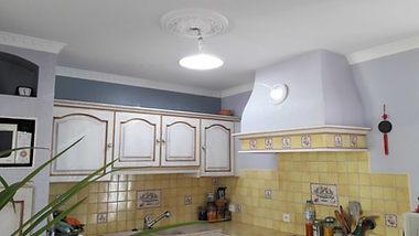 Puits de lumière dans une cuisine
