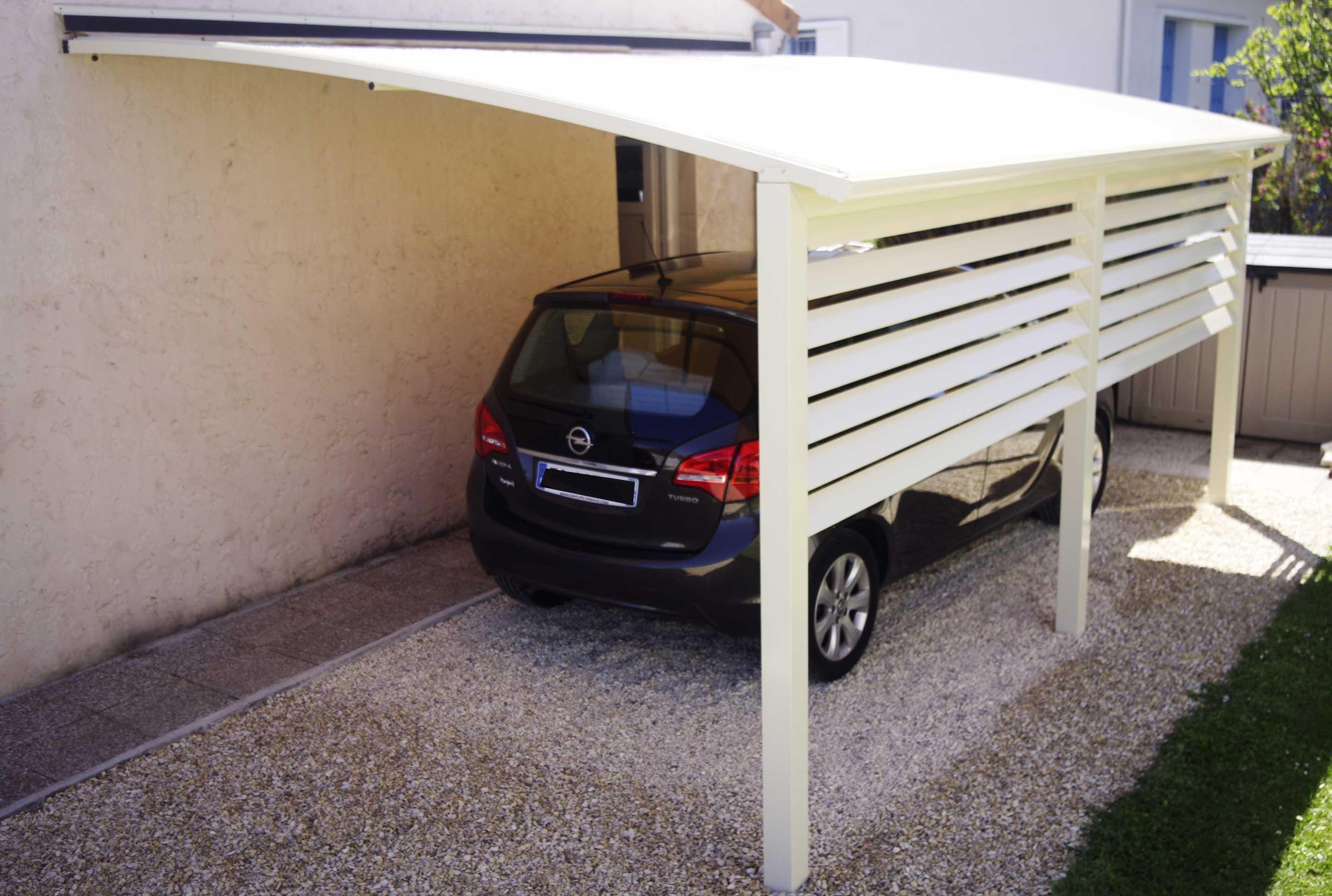 Pour abriter votre voiture