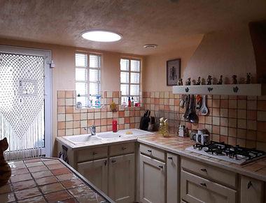 Luminosité retrouvée dans une cuisine