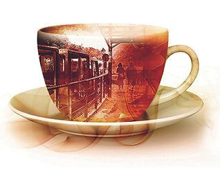 烏來台車咖啡杯設計