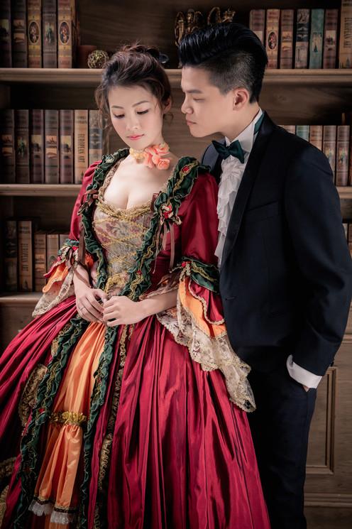 歐式浪漫主題沙龍照