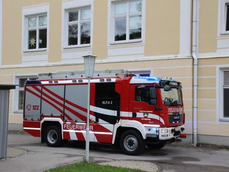 Brandverdacht im Landesjugendheim
