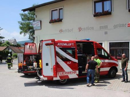 Brandeinsatz in Hernstein