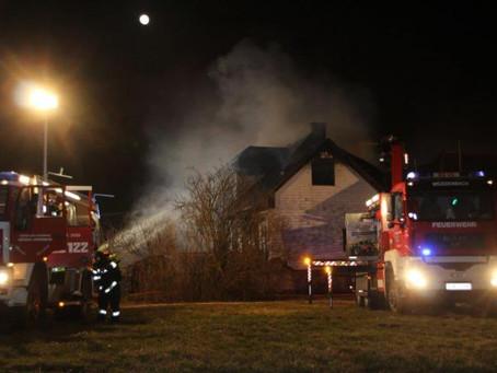 Großbrand in Furth