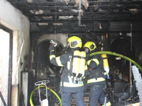 Wohnhausbrand in Berndorf