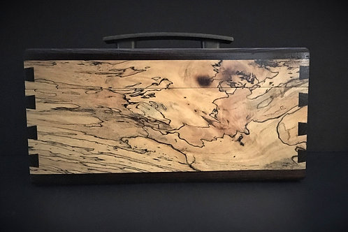 Tea Box – Spalted Tamarind & Wenge