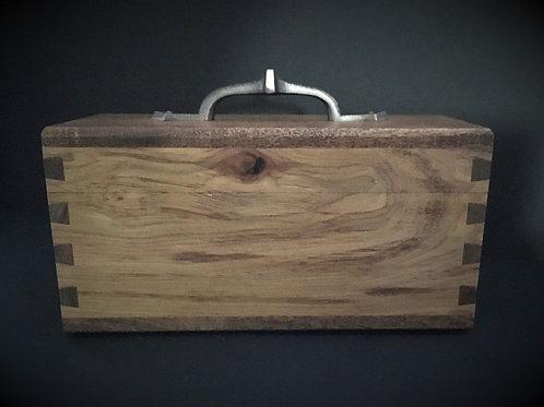 Tea Box – Rustic Hickory & Argentine Mesquite