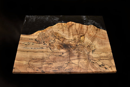 Serving Board - Spalted Maple River Board