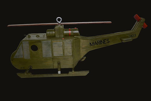 Huey UH-1E US Marines Helicopter