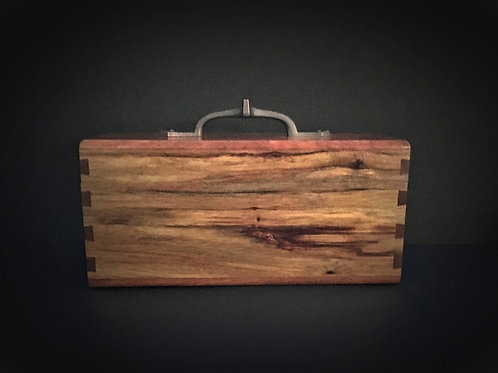 Tea Box – Canary Wood & Bloodwood