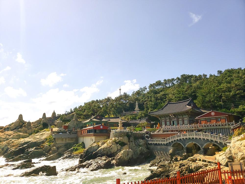 haedong yonggungsa temple ocean view