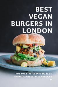 best vegan burgers london