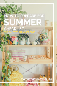 how to prepare for summer checklist