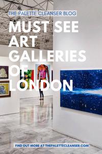 must see art galleries of london