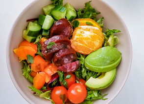 Beetroot Salad with Citrus Mayo Vinaigrette (Healthy Beet Recipe)