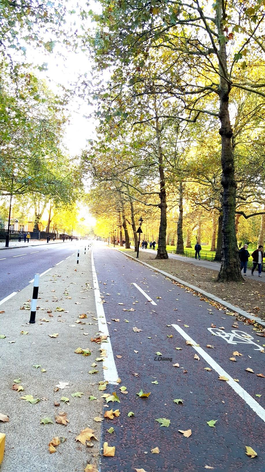 London park near Buckingham palace