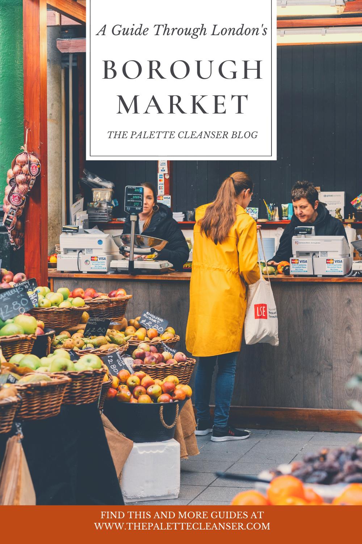 guide through london's borough market
