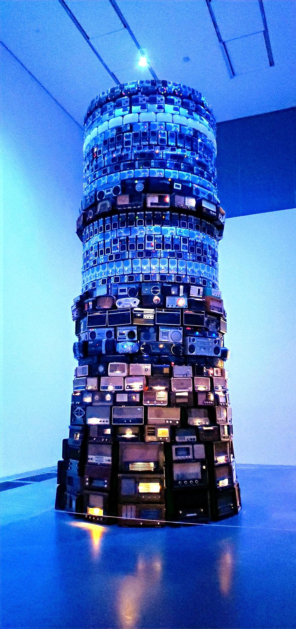 radio communication time modern london art