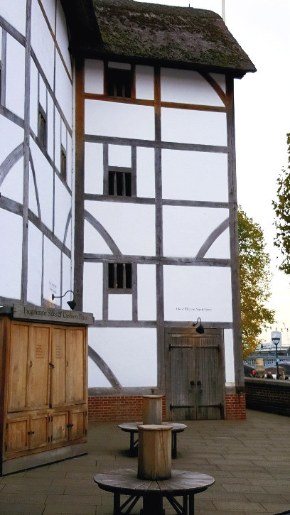Shakespeare Globe River Thames