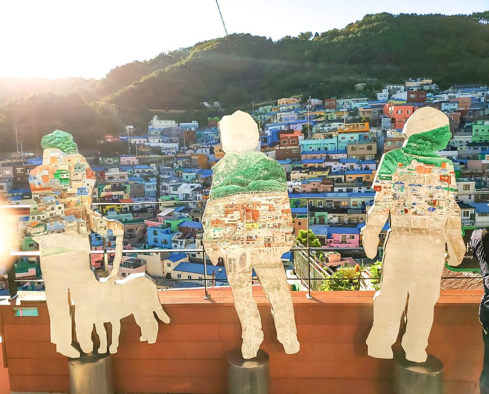reflection on korean people busan gamcheon culture village