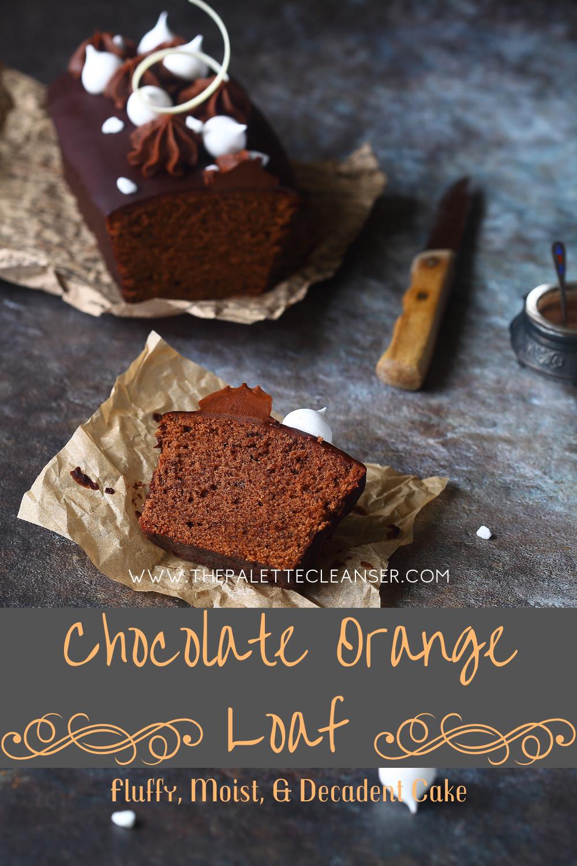 chocolate orange loaf pin