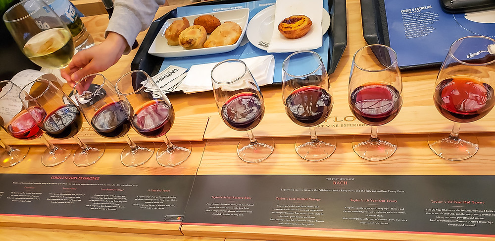 port wine flight portugal