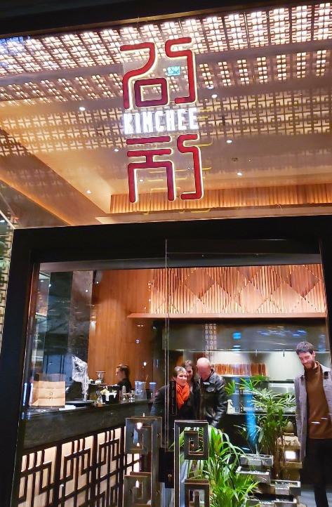 Kimchee Korean restaurant Kings Cross