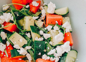 Quick and Refreshing Watermelon Salad
