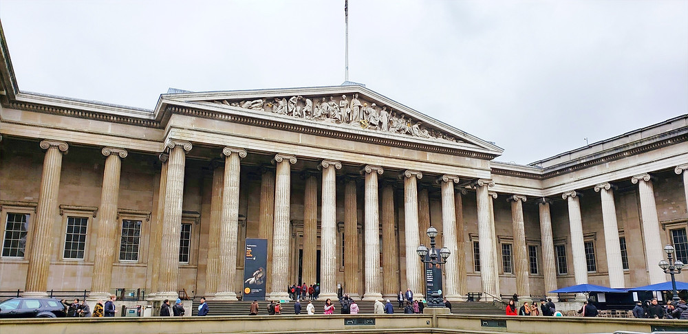 The British Museum art artefacts