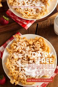 dairy free funnel cake recipe home