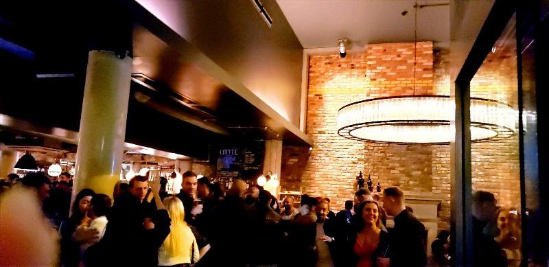 indoor bar night life