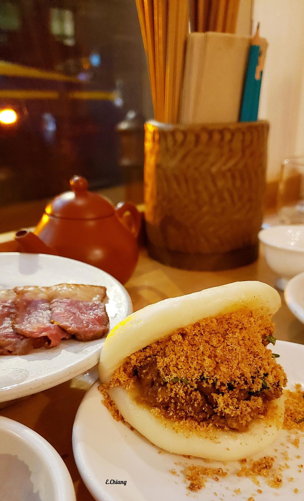 Confit Pork Bao bun