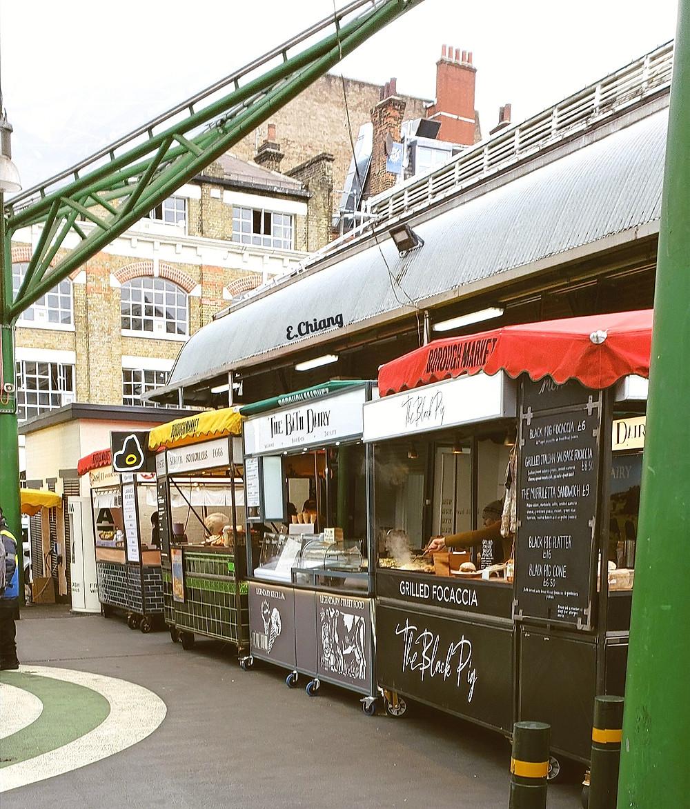 market kitchen food stalls