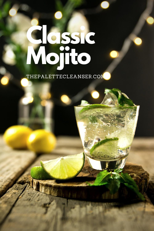 mint classic lime mojito