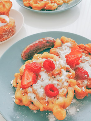 Dairy Free Funnel Cake (For a Beach Day at Home)