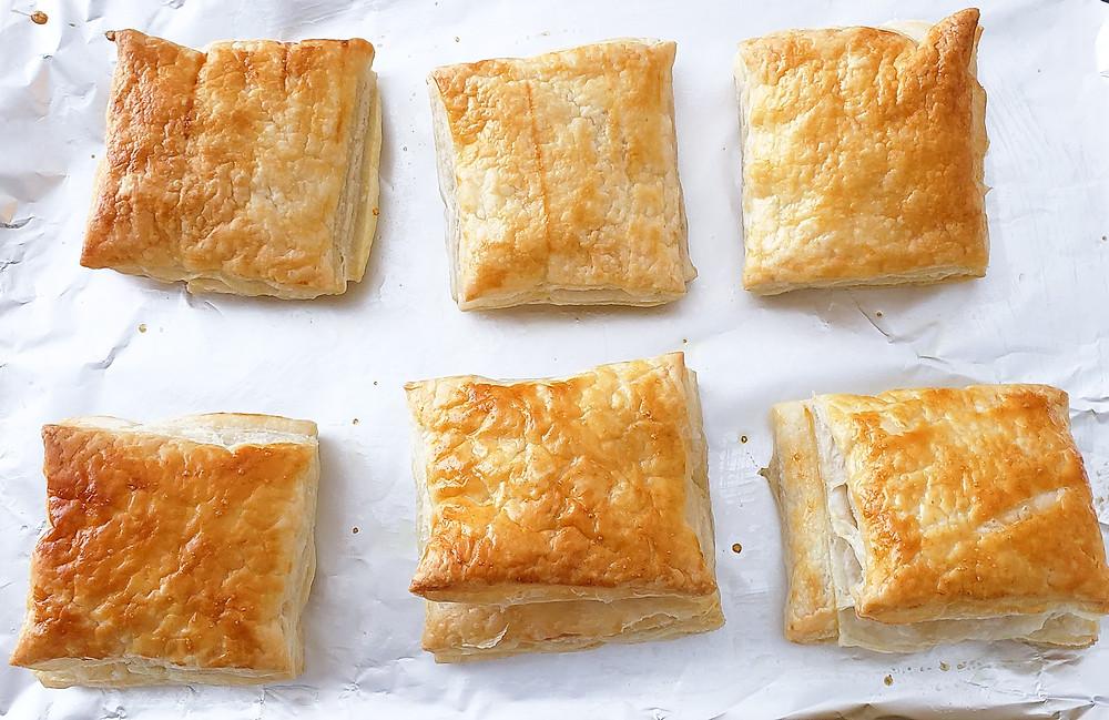 golden brown puff pastry