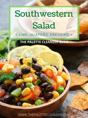 Southwestern Salad Remix With Creamy Lime Jalapeño Dressing