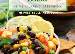 Southwestern Salad Remix With Creamy Lime Jalapeño Dressing
