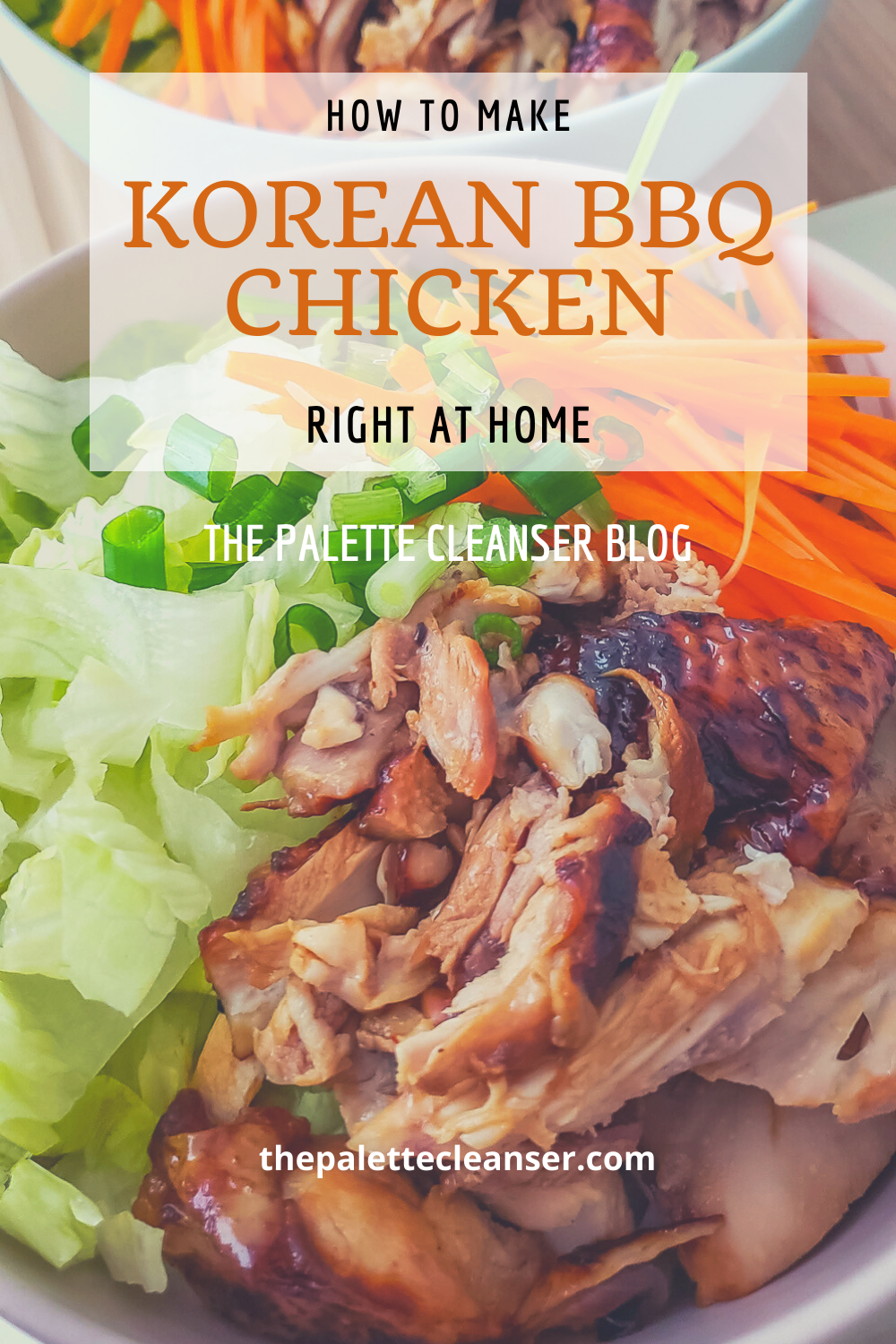 Korean Barbecue Chicken at home recipe