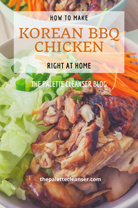 Korean Barbecue Chicken at home recipe