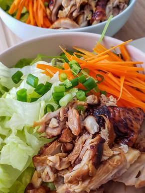 Korean BBQ Chicken Recipe - Chicken Bulgogi Dinner in 30 minutes