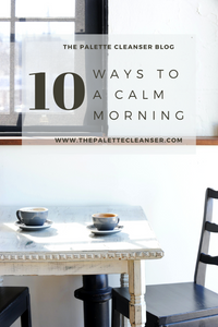 tips to a relaxed morning