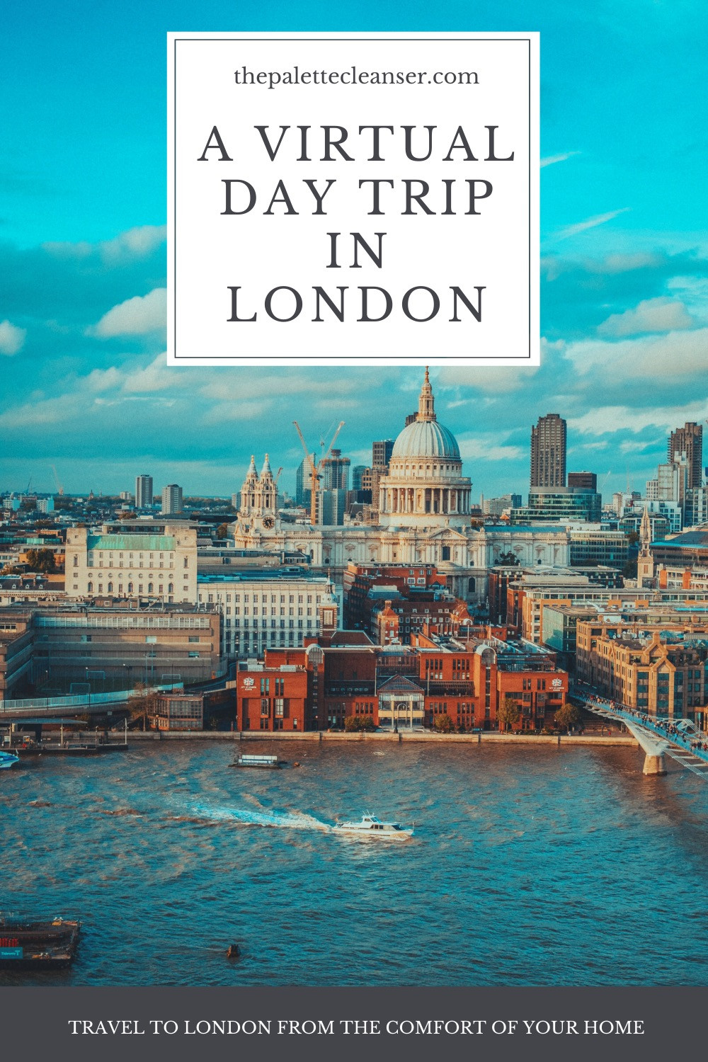virtual day trip in London
