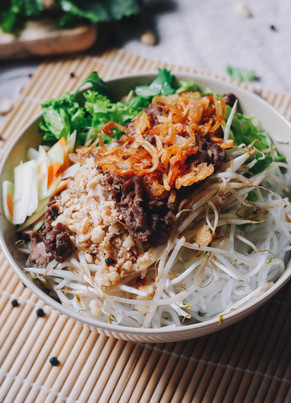 Vietnamese Bun Noodle Bowls (made in under 30 minutes)